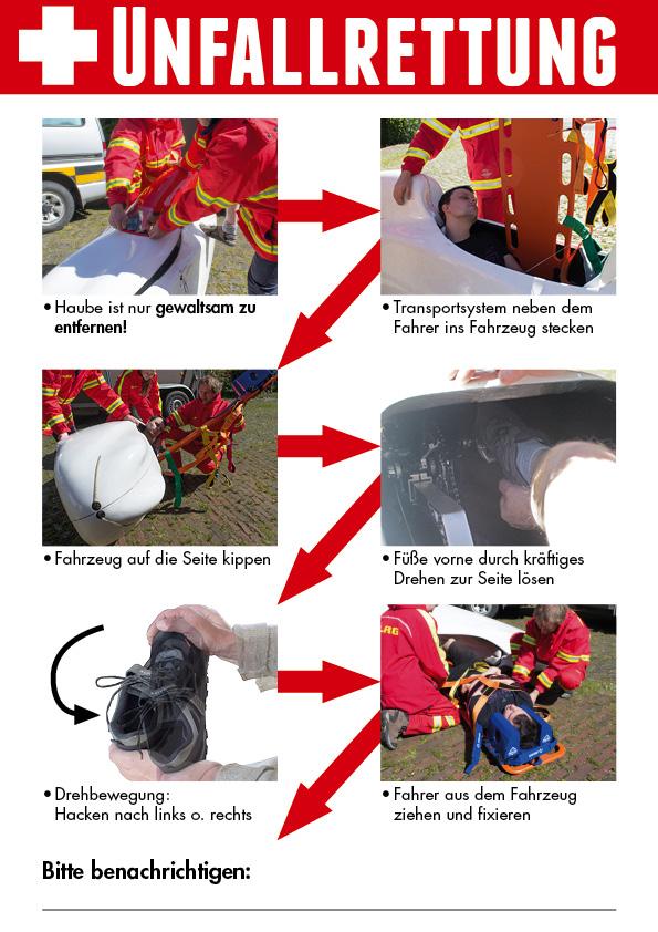 First Aid Card - Rescue Card