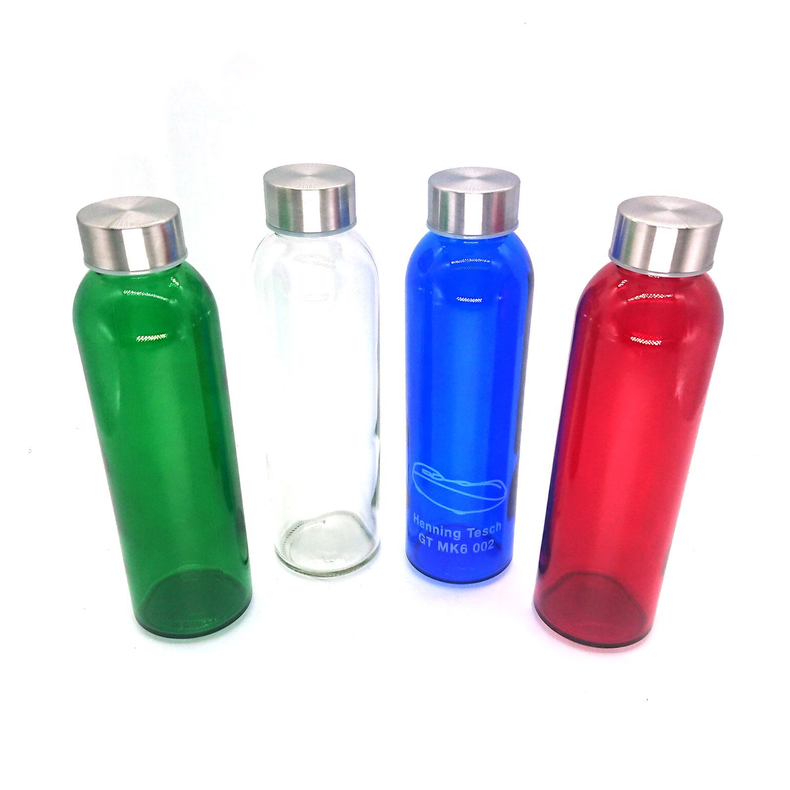 Personalisierte Glasflasche 500 ml