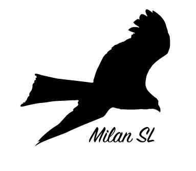"""Reflex-Aufkleber """"Milan"""""""